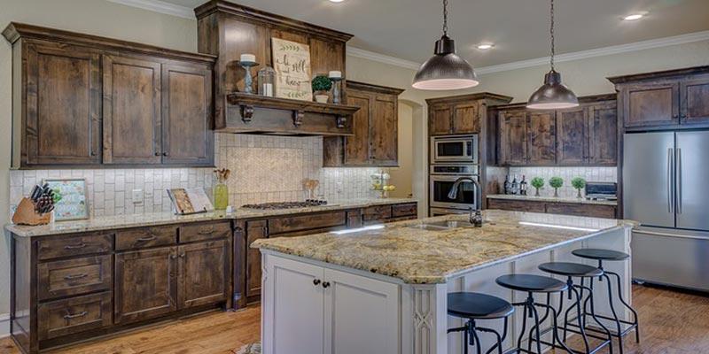 Custom Made Kitchen Cabinets Light Design